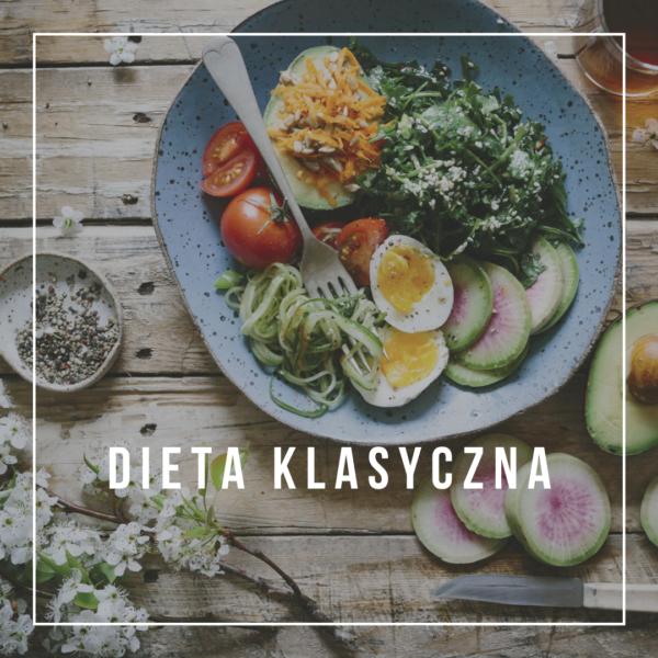 gotowy jadłospis dieta klasyczna